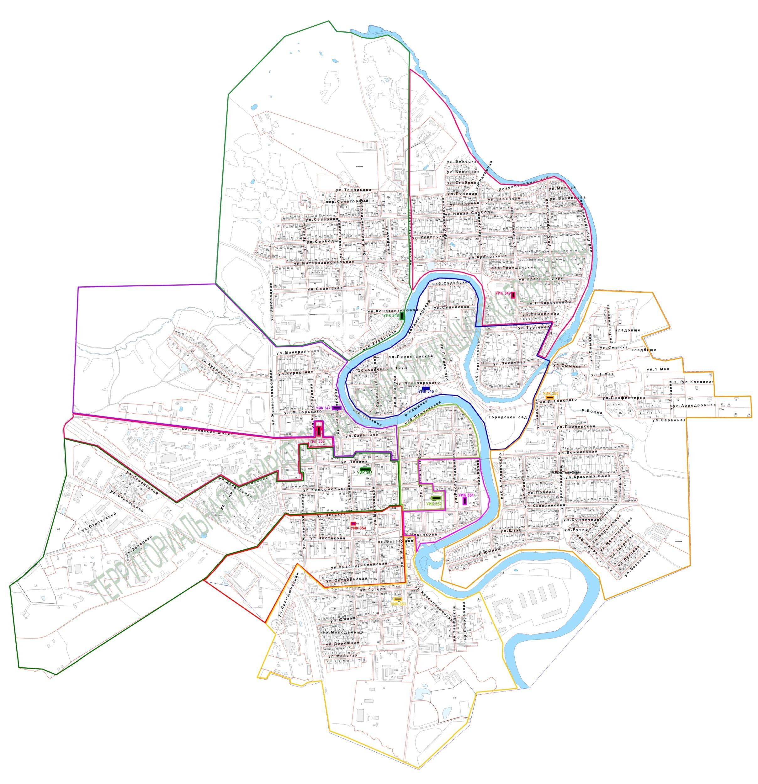 схема проезда тверь-тетьково кашинский район